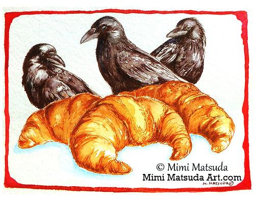 Croissant Crows #CC14