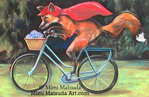 Little Red Fox Riding in the Hood #268