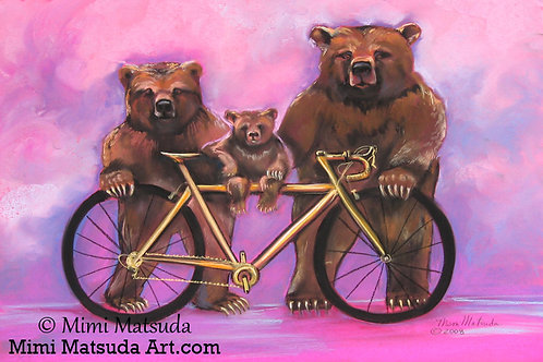 Goldie Bike and the Three Bears #258