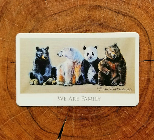 Sticker - We Are Family