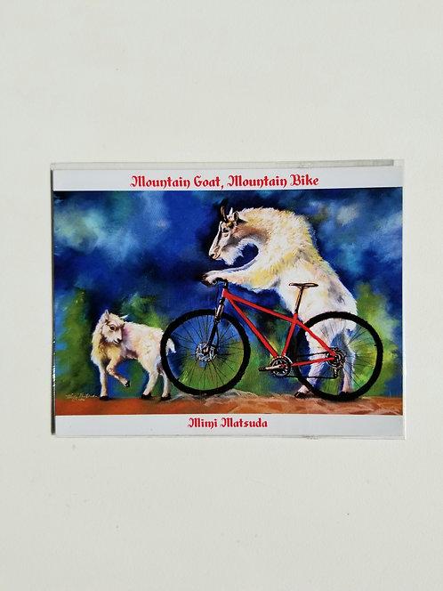 "Magnet - ""Mountain Goat, Mountain Bike"""""
