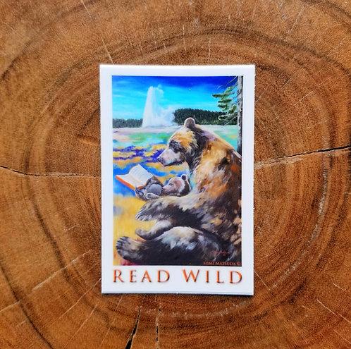 Sticker - READ WILD