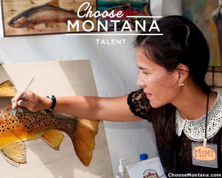 Mimi Matsuda Art is humbled - Thank you for the high 5, State of Montana!