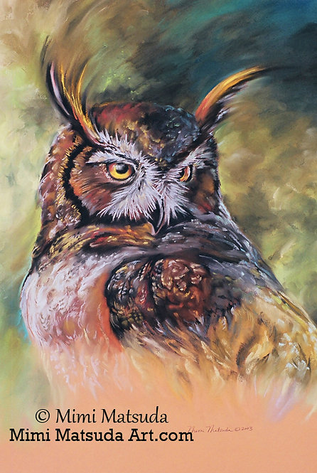 Great Horned Owl #43