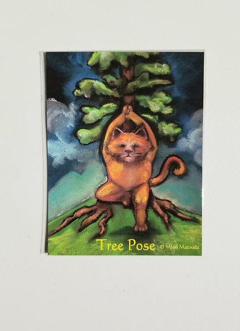 "Magnet - ""Tree Pose"""