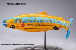 """School of Salmon"" Mimi Matsuda©"