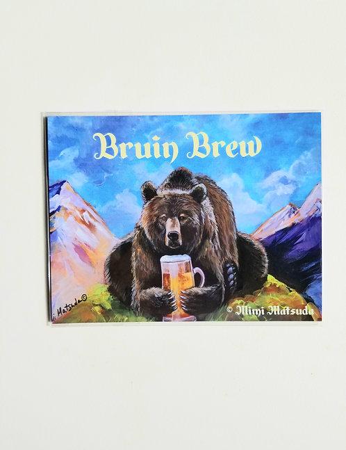 "Magnet - ""Bruin Brew"""