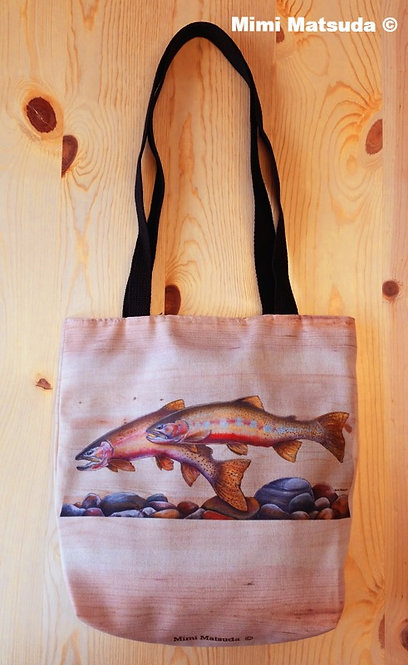 Westslope Cutthroat Couple Tote Bag