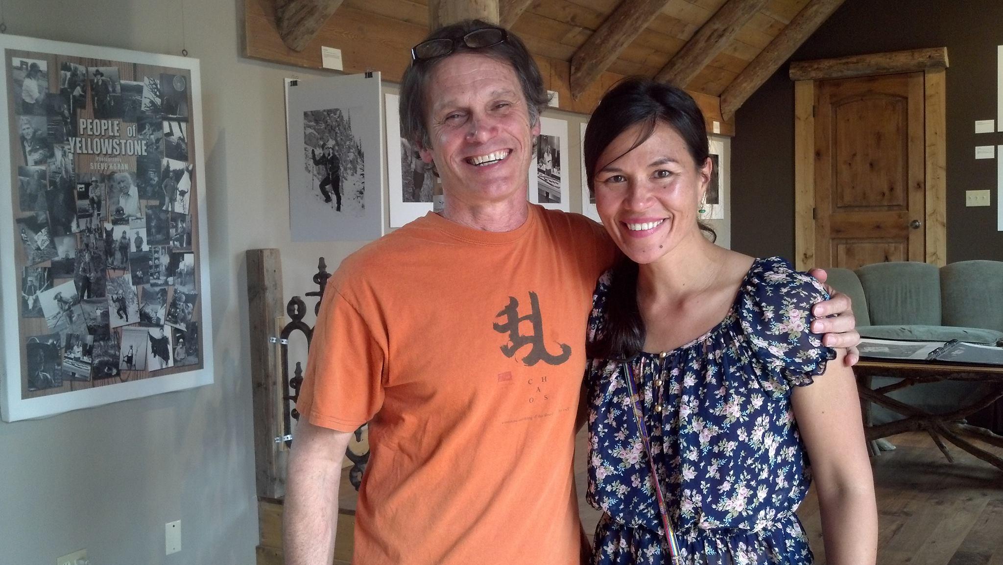 Steve Horan and Mimi Matsuda