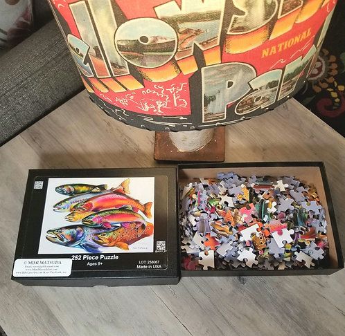Puzzle -  World Trout - 252 pieces