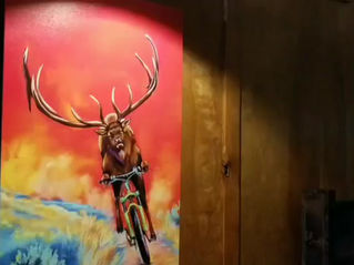 Bridger Brewing art show  - Bozeman, Montana