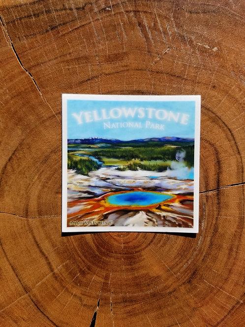 Sticker - Yellowstone National Park