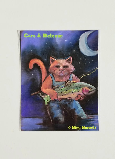 """Magnet - """"Cats & Release"""""""