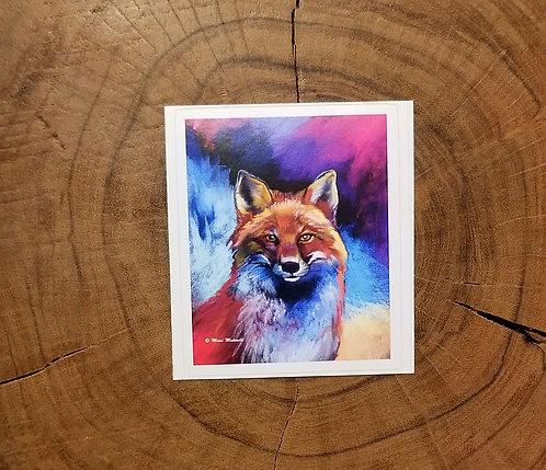 Sticker -Red Fox