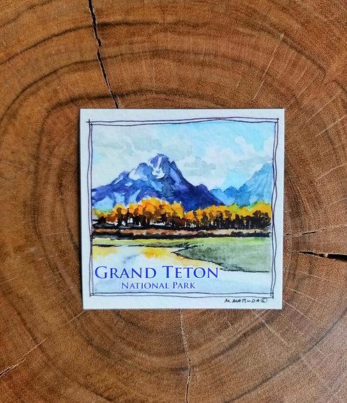 Sticker - Grand Teton National Park