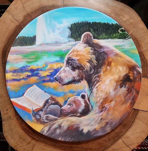 """""""Once upon a time..."""" 10 inch diameter Plate"""