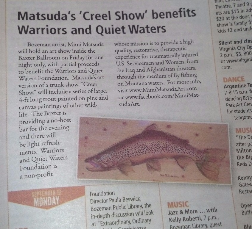 Bozeman Daily Chronicle 8/23/12