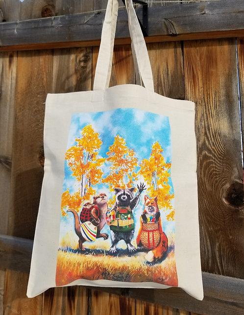 """""""Best Friends"""" cotton tote bag"""