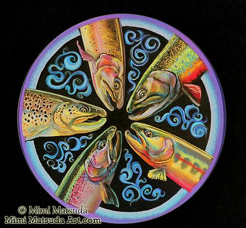 Trout Mandala #11