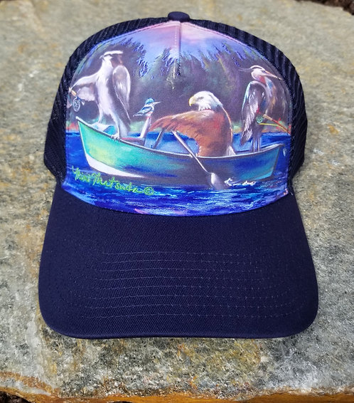 """Birds of a feather..."" Hat"