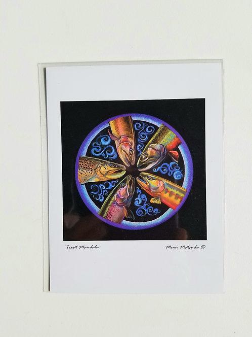 """Magnet - """"Trout Mandala"""""""