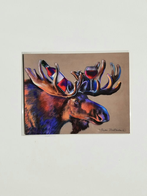 "Magnet - ""Moose Merlot"""