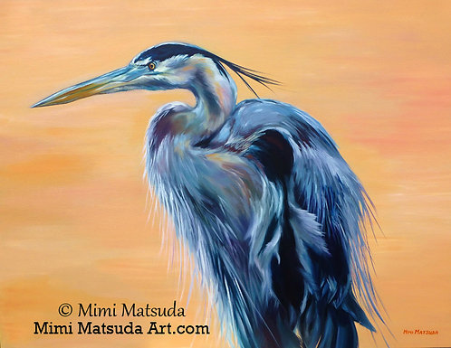 Great Blue Heron #10H