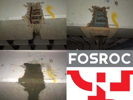 Concrete repair works