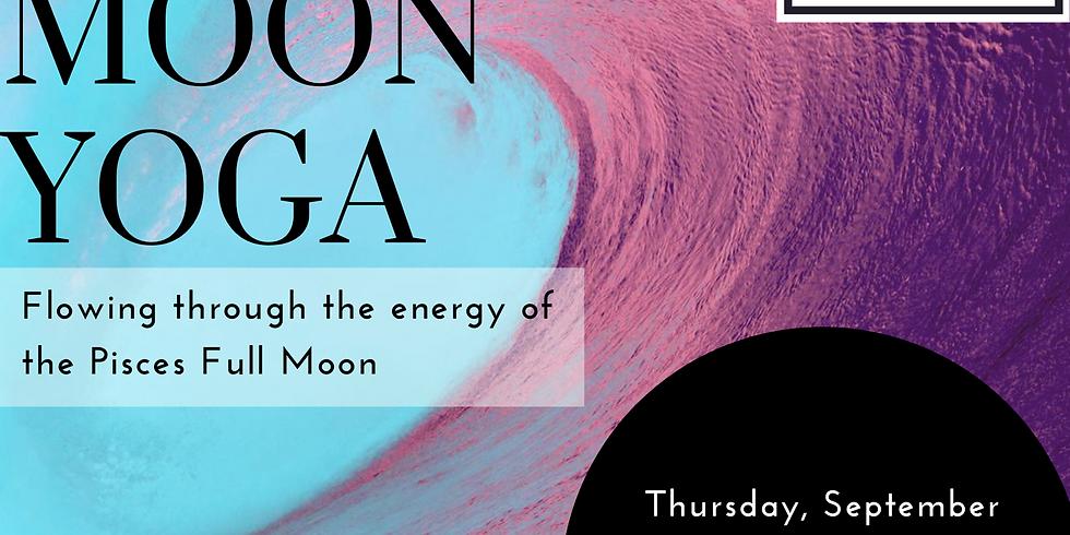 Full Moon Yoga - Full Moon in Pisces