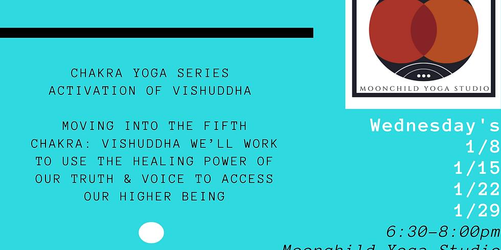 Throat Chakra Yoga Series