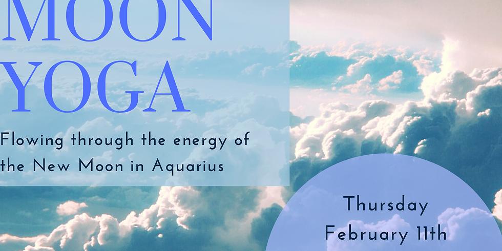New Moon Yoga - New Moon in Aquarius