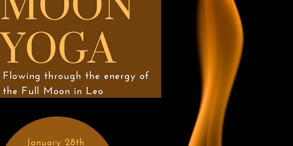 Full Moon Yoga - Full Moon in Leo