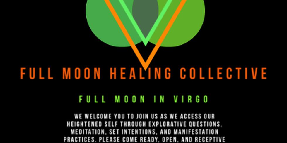 Full Moon Healing Collective - Full Moon in Virgo