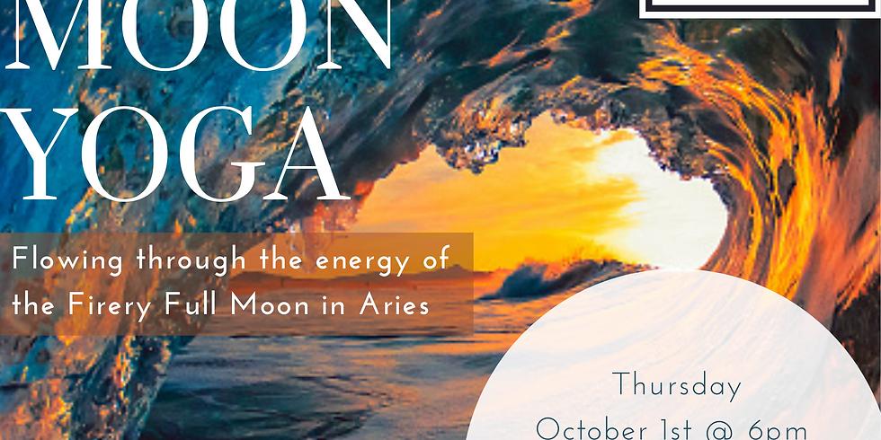 Full Moon Yoga - Full Moon in Aries