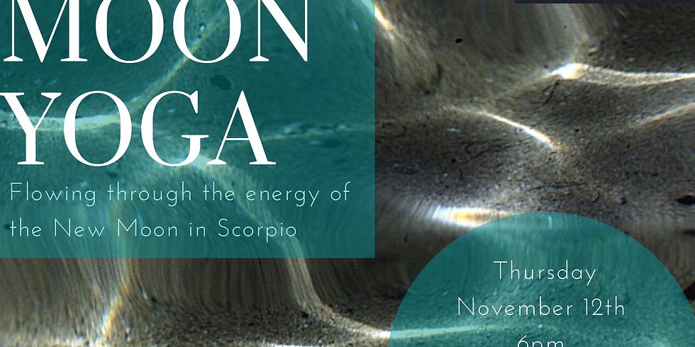 New Moon Yoga - New Moon in Scorpio