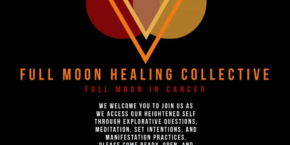 Full Moon Healing Collective - Full Moon in Cancer