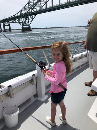 Kid friendly fluke fishing long island.J