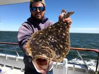 Fluke Fishing Doormats on Island Princes