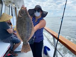 Captree Fluke Fishing Island Princess000