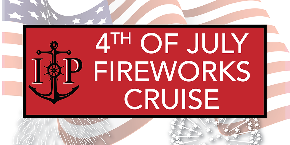 6:45pm-11pm CAPTREE 4th of JULY FIREWORKS CRUISE TO JONES BEACH Arrive 30 Mins. Early