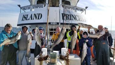 Captree Striped Bass Fishing on the Isla