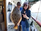 Doormat Fluke on the Island Princess Captree Fluke Fishing