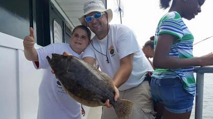 Bay Princess Captree Private Charter Fluke Fishing Trip