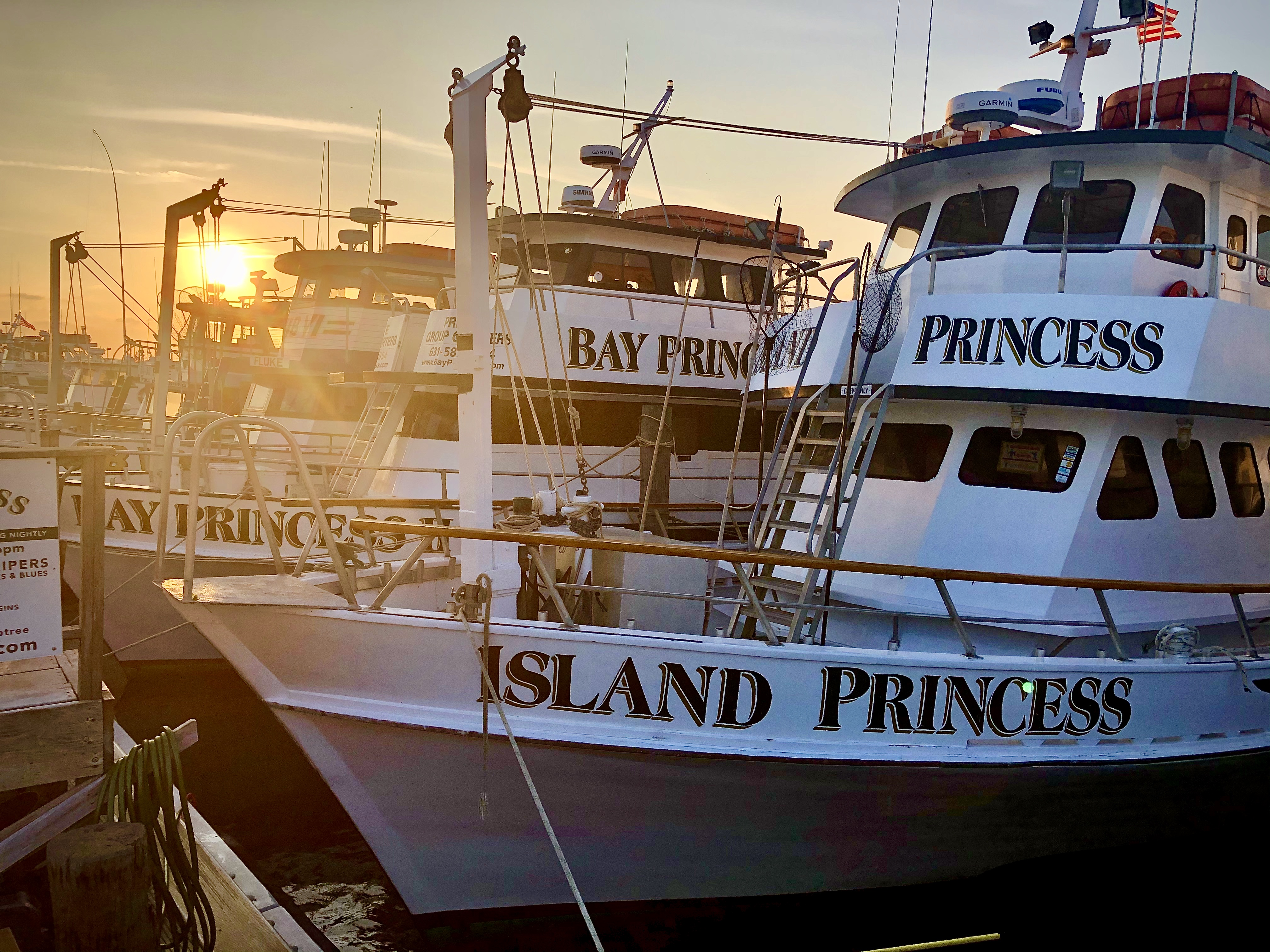 Captree Fishing on the Island Princess: Departure Times
