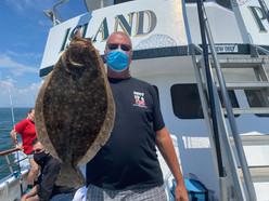Captree Fluke Fishing on Long Island 202