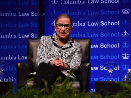 Ruth Bader Ginsburg, U.S. Supreme Court Justice and Columbia Law School Class of '59, dies at 87