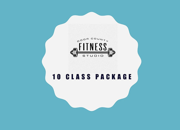 Ten (10) Class Package