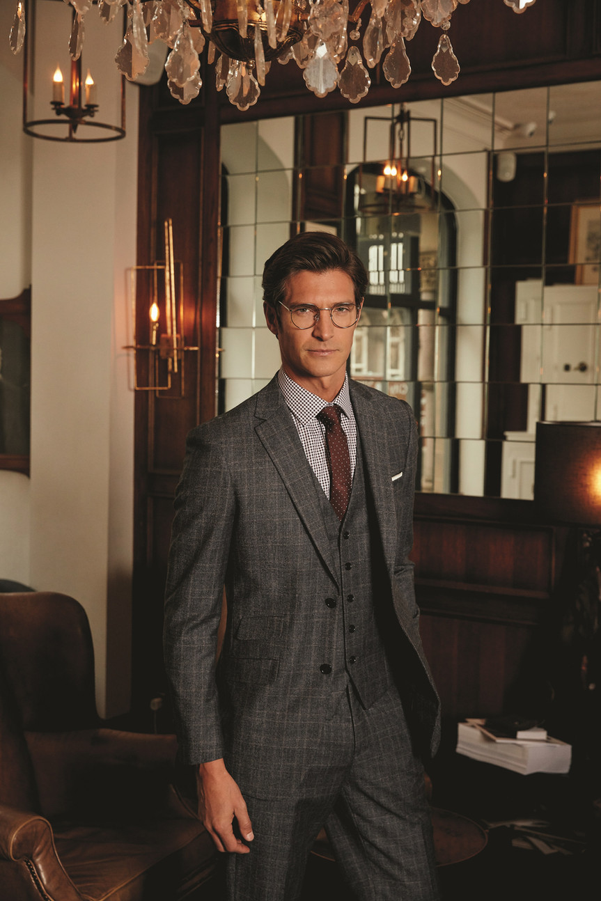 Specialising in 100% pure new wool suits