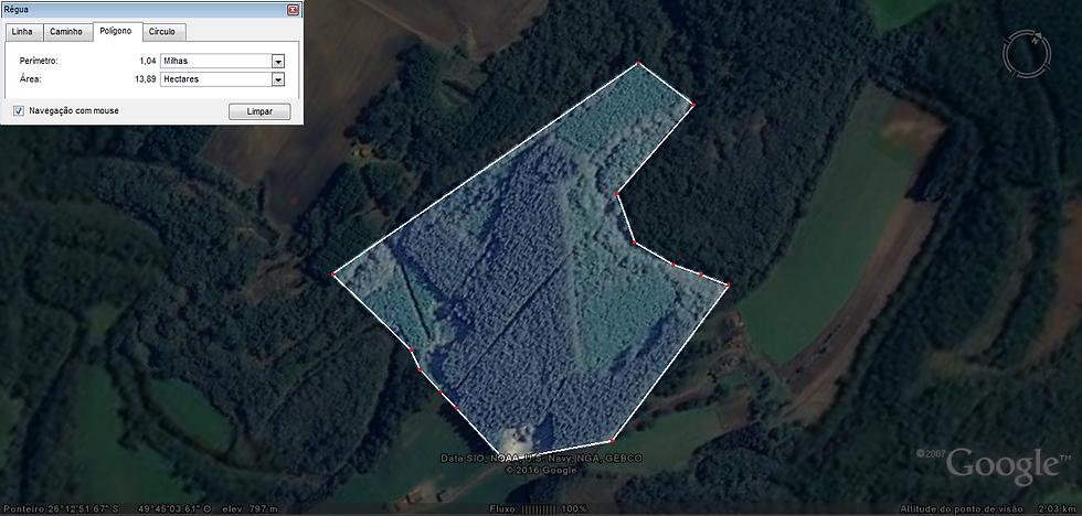 Área Rural 15.4 Ha | Avencal de Cima | Mafra | SC