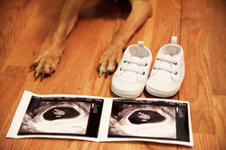 Kimber's Feet and baby picture